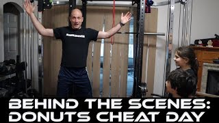 Behind the Scenes: Donuts Cheat Day | Overhead Press Workout | Vlog | The Cut