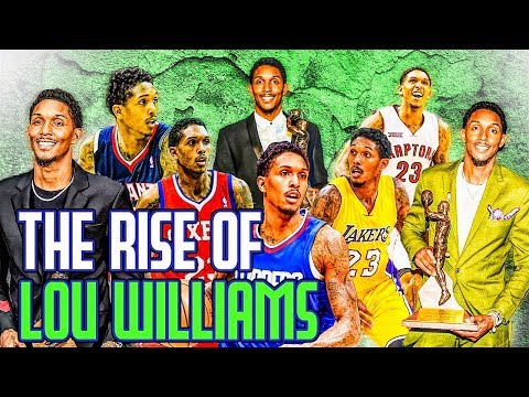 The Rise Of Lou Williams- The Greatest 6th Man In NBA History!