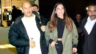 XXX Vin Diesel & Deepika Padukone At Airport Leaving India After Return Of Xander Cage Promotions