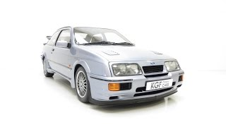 One of Only 52 Moonstone Blue Ford Sierra RS500 Cosworth's with Just 19,945 Miles. SOLD!