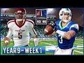 Brandon Warren vs Justin Colbert | NCAA Football 14 Dynasty Year 9 - Week 1 vs Texas A&M | Ep.150