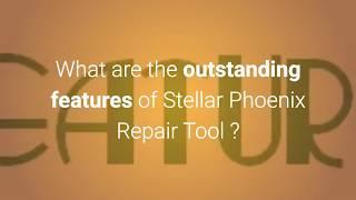 Stellar video repair software