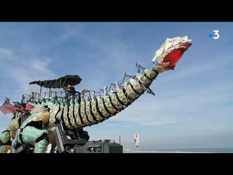 Coronavirus - confinement: le dragon de Calais fait une sortie !