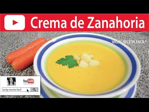 Crema De Zanahoria Vicky Receta Fácil