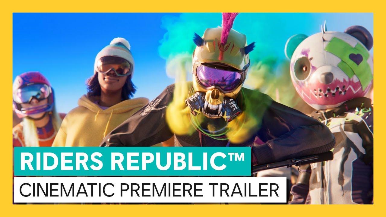 Riders Republic Is Ubisoft's New Mutliplayer Extreme Sports Playground