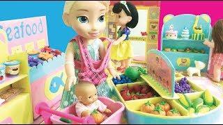 Disney Princess Dolls Supermarket Toys