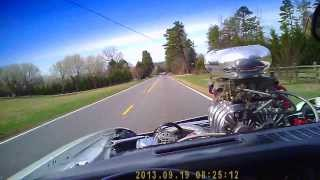 1974 Z28 Supercharged Big Block In Car Video Fun