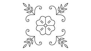 নকশী কাঁথার নকশা ডিজাইন (Bangladeshi nakshi kantha design) 13