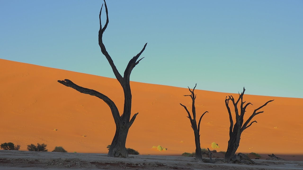 Deadvlei & Namib-Naukluft National Park, Namibia in 4K Ultra HD