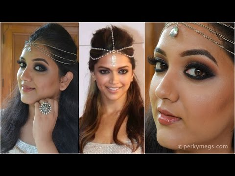 Black Smokey Eye Makeup_Inspired by Deepika Padukone