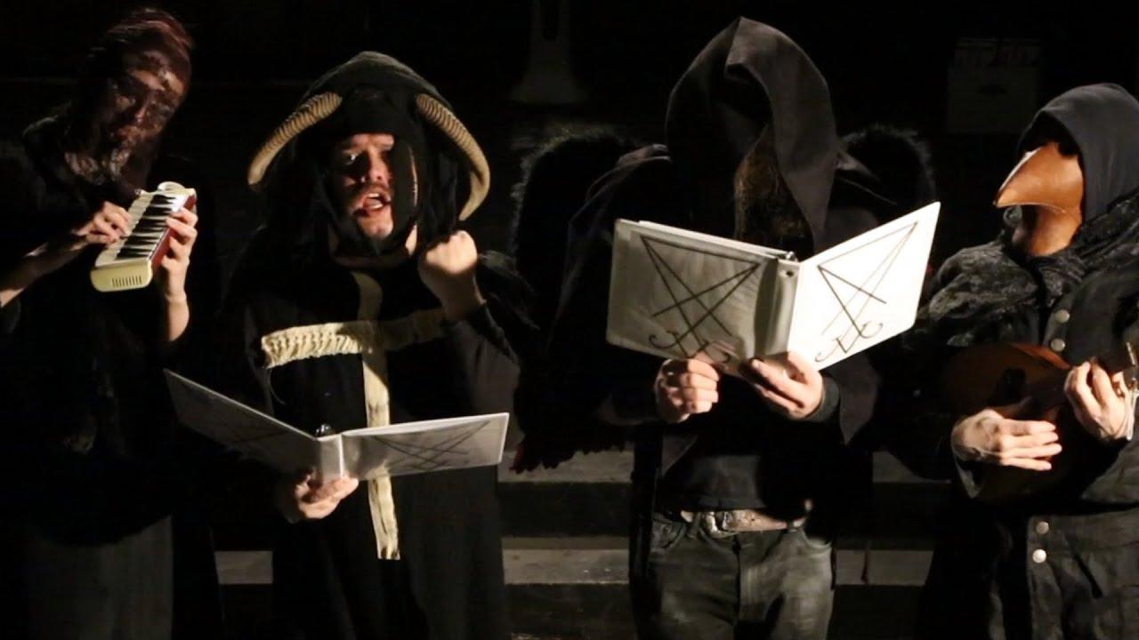 Hark The Fallen Angels Sing A Satanic Christmas Carol Youtube