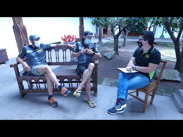 Entrevista a Tito Parra y Sergio Luis Tejero nos hablan del Challenge Trail Isla de La Palma.