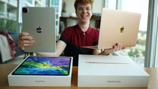 Unboxing NUEVO iPad Pro y MacBook Air (2020) y primeras impresiones