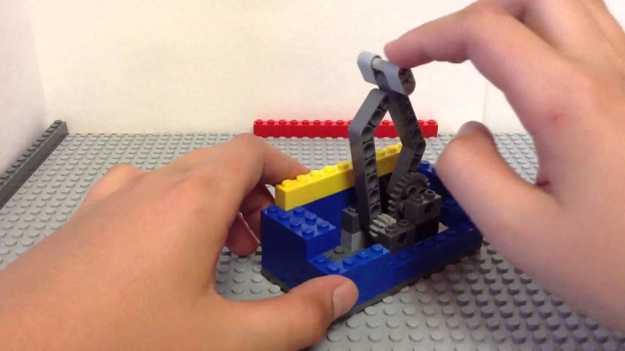 lego useless machine