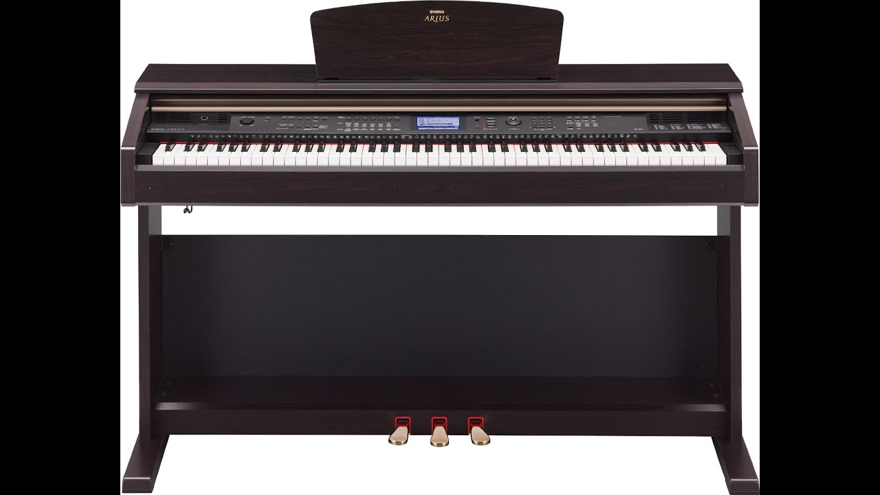 yamaha arius ydp v240 digital piano with bench review youtube. Black Bedroom Furniture Sets. Home Design Ideas