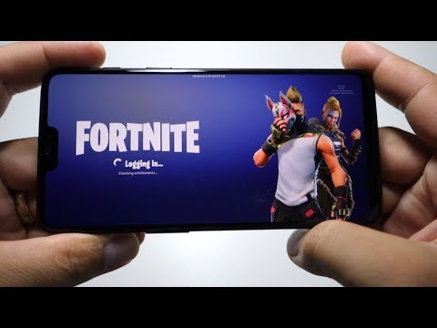 FORTNITE OnePLus 6 - testing xda version (Galaxy Note 9 spoofing)