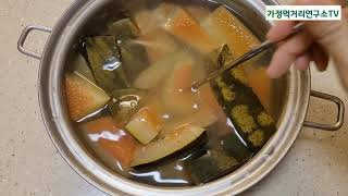 천연정력제 수박탕ㅣ수박씨까지 먹는 수박쥬스