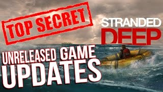 Stranded Deep Gameplay - UNRELEASED GAME CONTENT - Weapons, Aliens? - Let