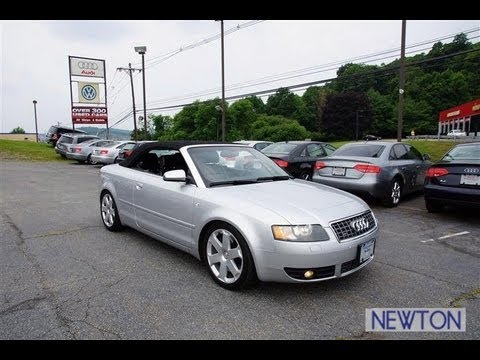 2005 audi s4 4 2 cabriolet quattro youtube. Black Bedroom Furniture Sets. Home Design Ideas