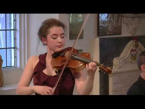 St Mary's Concerts: Mathilde Milwidsky (violin) John Reid (piano)