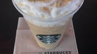Starbucks Maple Pecan Frappuccino Secret Drink - Free Stock Footage
