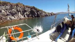 Santorini Volcano Scuba Diving With Friends GoPro Hero 3+