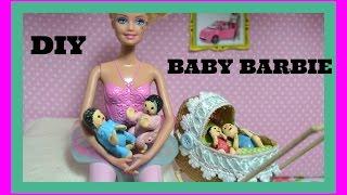 Como fazer Baby, bebê para boneca Barbie