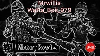 FORTNITE LIVE 135+ Skins 720+ wins | MrWillis Live | GHAF with WATTA_BOII_979