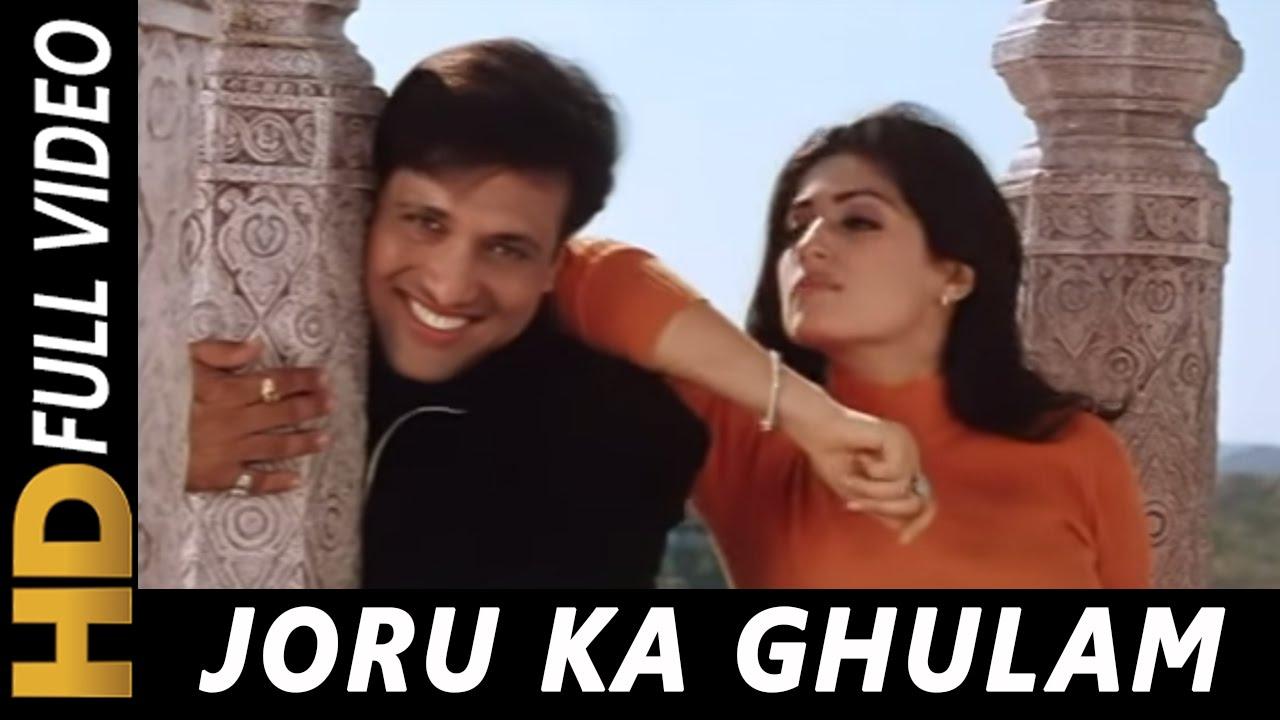 Main Joru Ka Ghulam Banke Rahunga | Joru Ka Ghulam 2000 Songs | Govinda, Twinkle Khanna | Abhijeet
