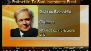 Rothschild To Start Investment Fund - Bloomberg