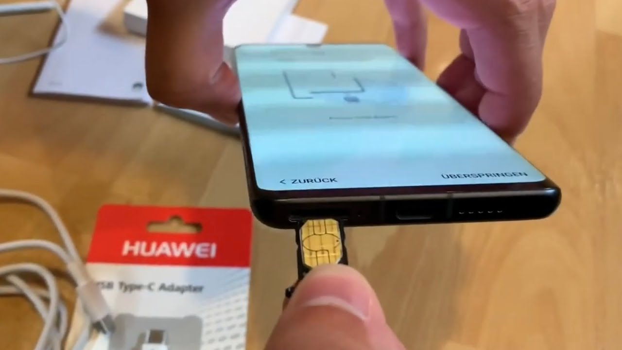 How To Change Sim Card Of A Huawei P30 Pro Replace Nano Sim Card In Huawei Dual Sim Smartphone Diy Youtube