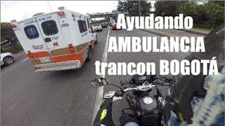 Ayudando AMBULANCIA en Bogota @pipemotorbike thumbnail