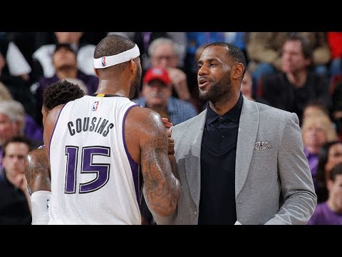 Cavs ALREADY Targeting DeMarcus Cousins to Help Beat the Warriors Next Year