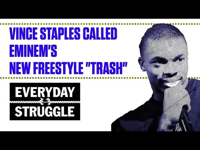 "Vince Staples Called Eminem's New Freestyle ""Trash"""