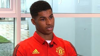 Marcus Rashford EXCLUSIVE Interview On His Rise Through The Manchester United Academy