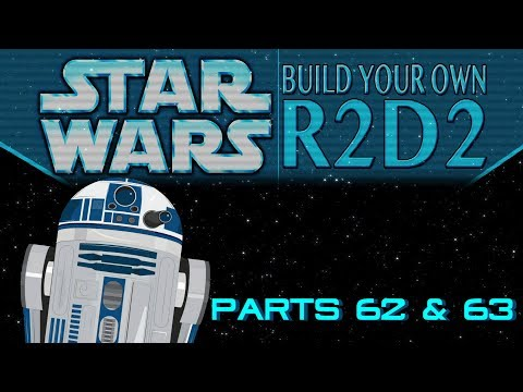DeAgostini Build Your Own R2D2 Parts 62 & 63: All about the dome! (No Treble)