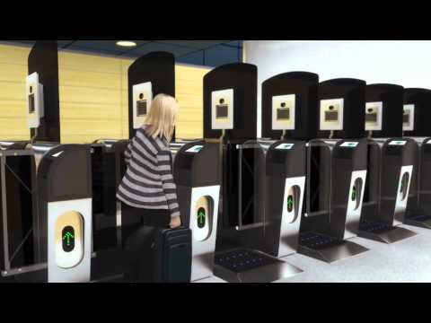 Automated passport control at Helsinki Airport