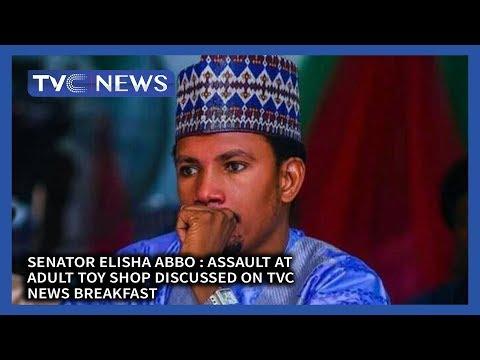 Senator Elisha Abbo : Assault at Adult Toy Shop Discussed on TVC News Breakfast