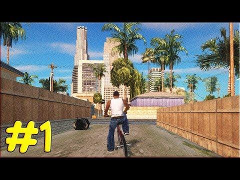 СПУСТЯ 15 ЛЕТ - #ПРОХОЖДЕНИЕ GTA San Andreas #1 (SA DirectX 2.0)