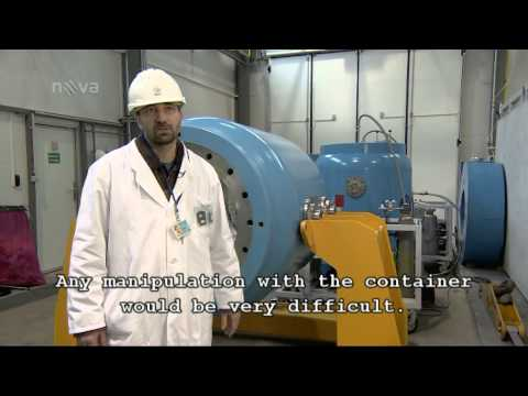 Heroes in white coats - nuclear fuel transports