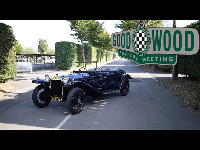 1925 Lancia Lambda at Goodwood - auctioning a beauty