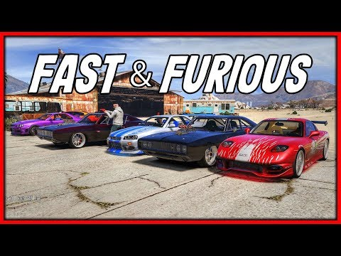 GTA 5 Roleplay - Fast & Furious Movie Car Drag Race | RedlineRP #794