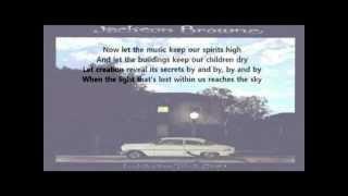 Jackson Browne - Before The Deluge ( + lyrics 1974)