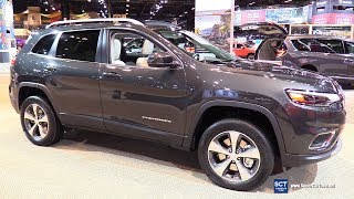 2019 Jeep Cherokee Limited - Exterior and Interior Walkaround - 2018 Chicago Auto Show