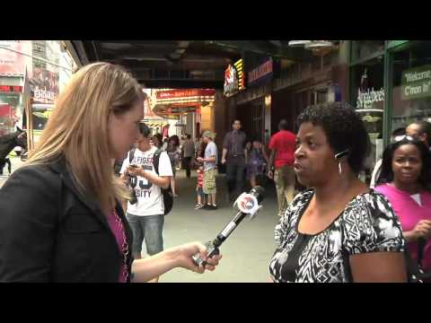 Consumers try to spot dangerous fakes in Times Square