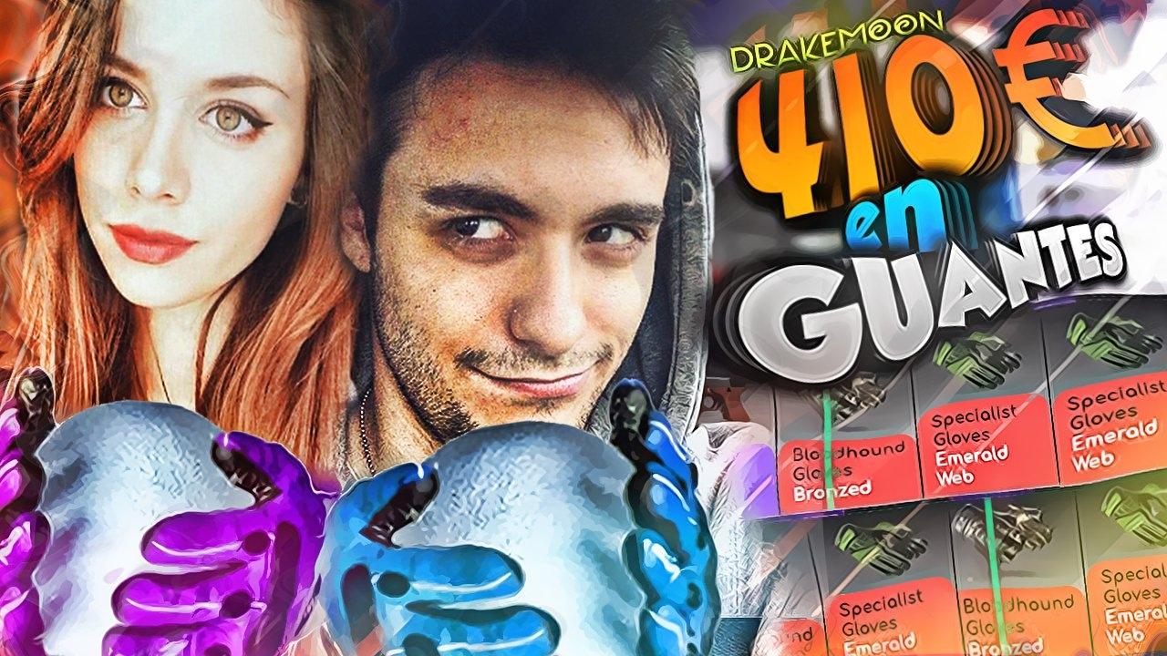 MI NOVIA abre cajas DE GUANTES + SORTEO CS: GO | DRAKEMOON ...  MI NOVIA abre c...