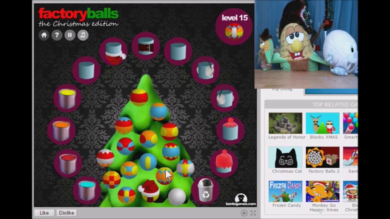 OK, we should keep going - plushplaygames Factory Balls Christmas ...