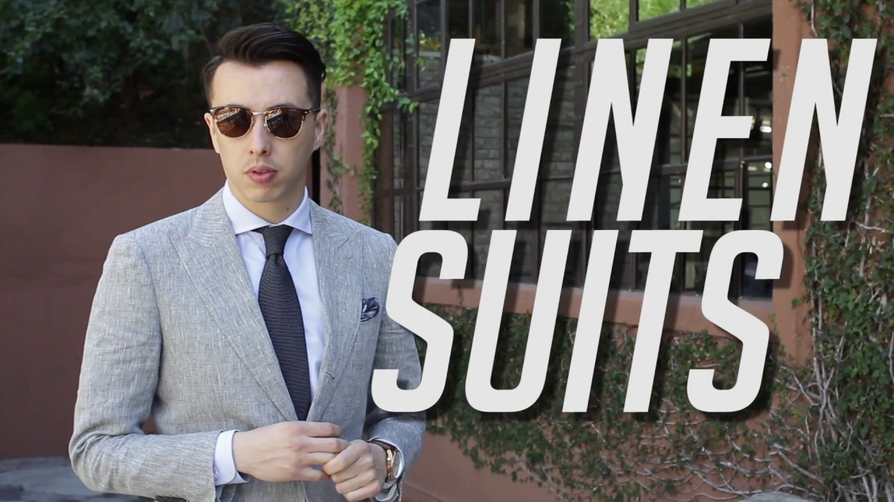 4f4b682727 Stop Sweating Your Balls Off in Suits - How To  Linen Suits