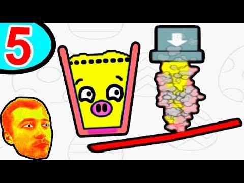 ПРоХоДиМеЦ и Стаканчик БУЛЬ-БУЛЬ собирают Водичку! - #5 - Игра Happy Glass