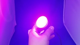 ✅ 1$ Grow LED light full spectrum 15W from AliExpress Unboxing